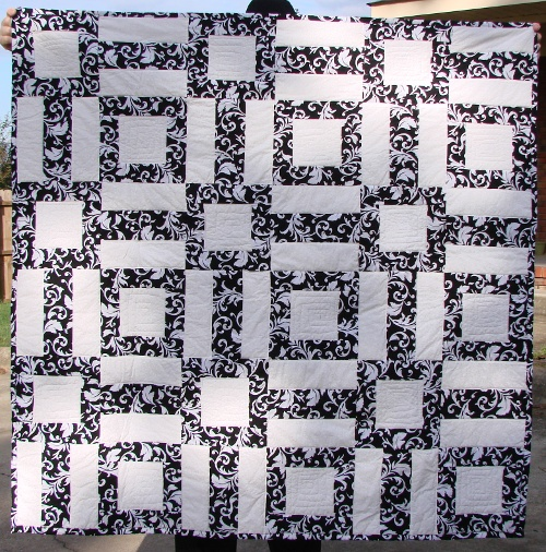 Easy Black and White Quilt Pattern Archives - FabricMomFabricMom