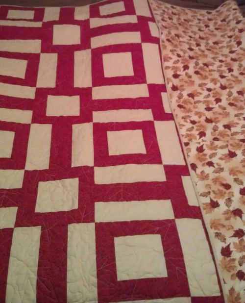 Started sewing quilting in march of 2011 i started making my quilt