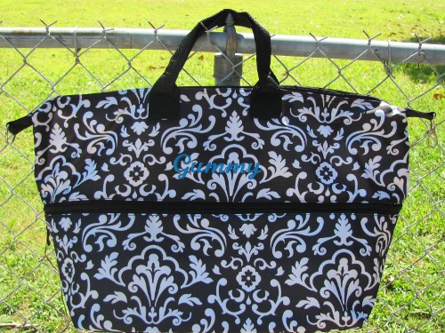 Thirty one expand a tote day extender fabricmomfabricmom for 10 minute table runner 30 minute tote bag