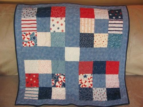 Nautical Themed Baby Quilt - FabricMomFabricMom : nautical themed quilt patterns - Adamdwight.com