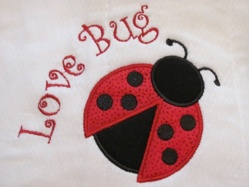 Lady Bug Embroidery Archives Fabricmomfabricmom